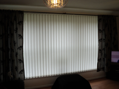 vertical blinds altrincham, cheshire